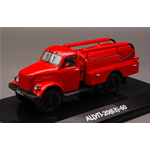 ATSUP-20 (63)-60 FIRE ENGINE ON GAZ-63 CHASSIS 1:43 Dip Models Pompieri Die Cast Modellino