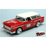 CHEVY BEL AIR NOMAD 1955 COCA COLA 1:24 Motorcity Classics Veicoli Commerciali Die Cast Modellino