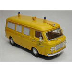 FIAT 238 AMBULANZA AVIS (Italy) 1973 - yellow - scale 1:43 Rio Ambulanze Die Cast Modellino