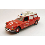CITROEN ID 19 BREAK 1962 AMBULANZA POMPIERI 1:43 Rio Ambulanze Die Cast Modellino