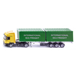 CAMION CON CONTAINERS 1:50 Siku Camion Die Cast Modellino