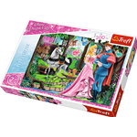 DISNEY PRINCESS INCONTRO IN FORESTA MEETING IN THE FOREST PUZZLE Pz.200 Produttori Vari Puzzle Die Cast Modellino