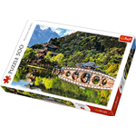 BLACK DRAGON POOL, ELEPHANT HILL, CHINA PUZZLE Pz.500 Produttori Vari Puzzle Die Cast Modellino