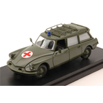 CITROEN DS BREAK MILITARY AMBULANCE 1960 MATT GREEN 1:43 Rio Ambulanze Die Cast Modellino