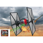 STAR WARS FIRST ORDER SPECIAL FORCES TIE FIGHTER KIT 1:35 Revell Kit Movie Die Cast Modellino