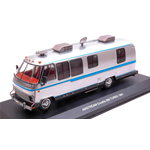 AIRSTREAM EXCELLA 1981 CHROME/BLACK 1:43 Ixo Model Campers-Roulottes Die Cast Modellino