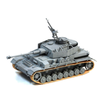 ARAB PANZER IV KIT 1:35 Dragon Kit Mezzi Militari Die Cast Modellino
