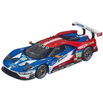 FORD GT RACE CAR N.68 1:32 Carrera Slot Die Cast Modellino