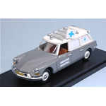 CITROEN DS 19 AMBULANZA MUNICIPALE 1962 GREY 1:43 Rio Ambulanze Die Cast Modellino
