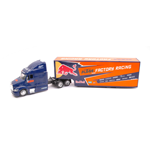 AMERICAN TRUCK RED BULL KTM FACTORY RACING TEAM 1:43 New Ray Camion Die Cast Modellino