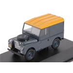 LAND ROVER SERIES 1 88 HARD TOP RAF 1948 DARK GREEN/YELLOW 1:43 Oxford Auto Stradali Die Cast Modellino
