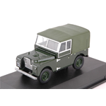 LAND ROVER SERIES I 88 SOFT TOP 1948 GREEN 1:43 Oxford Auto Stradali Die Cast Modellino