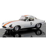 JAGUAR E-TYPE N.9 BATHURST 1965 1:32 Scalextric Slot Die Cast Modellino