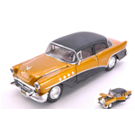 BUICK CENTURY 1955 OUTLAWS GOLD/BLACK 1:26 Maisto Tuning Die Cast Modellino