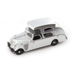 THOMPSON HOUSE CAR 1934 METALLIC SILVER 1:43 Autocult Campers-Roulottes Die Cast Modellino