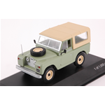 LAND ROVER 88 SERIE II 1961 LIGHT GREEN/BEIGE 1:43 Whitebox Auto Stradali Die Cast Modellino
