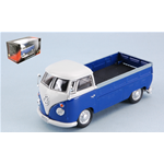 VW T1 PICK UP 1960 BLUE/WHITE 1:43 Cararama Campers-Roulottes Die Cast Modellino