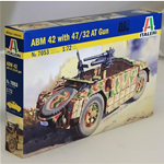 ABM 42 WITH 47/32 AT GUN KIT 1:72 Italeri Kit Mezzi Militari Die Cast Modellino
