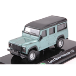 LAND ROVER DEFENDER 110 2015 METALLIC LIGHT GREEN HARD CASE 1:43 Burago Auto Stradali Die Cast Modellino