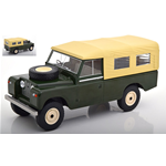 LAND ROVER 109 PICK UP SERIE II CLOSED 1959 DARK GREEN 1:18 ModelCarGroup Auto Stradali Die Cast Modellino