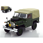 LAND ROVER LIGHTWEIGHT SERIES IIa SOFT TOP 1968 OLIVE GREEN 1:18 Bos Model Auto Stradali Die Cast Modellino