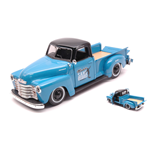 CHEVROLET 3100 PICK UP 1950 LIGHT BLUE 1:25 Maisto Tuning Die Cast Modellino