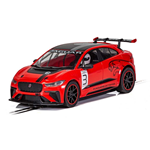 JAGUAR I-PACE RED SLOT 1:32 Scalextric Slot Die Cast Modellino