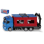 CAMION CON CONTAINER 1:50 Siku Camion Die Cast Modellino