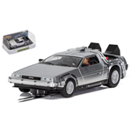DE LOREAN BACK TO THE FUTURE SLOT 1:32 Scalextric Slot Die Cast Modellino