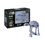 STAR WARS GIFT SET AT-AT 40th ANNIVERSARY KIT 1:53 Revell Kit Movie Die Cast Modellino