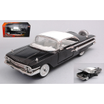 CHEVROLET IMPALA 1958 SHOWROOM FLOOR BLACK WHITE ROOF 1:24 Jada Toys Tuning Die Cast Modellino