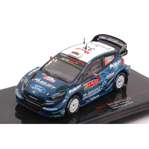 FORD FIESTA RS WRC N.33 RALLY PORTUGAL 2019 EVANS-MARTIN 1:43 Ixo Model Auto Rally Die Cast Modellino