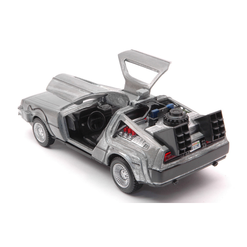 DE LOREAN BACK TO THE FUTURE PART I 1:32 Jada Toys Movie Die Cast Modellino