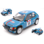 PEUGEOT 205 RALLY N.18 TOUR DE CORSE 1990 H.VERICEL-G.CHOLLIER 1:18 Solido Auto Rally Die Cast Modellino