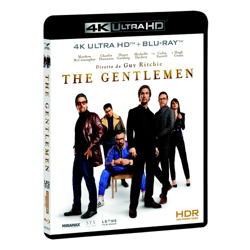 Gentlemen (The) (Blu-Ray 4K+Blu-Ray Hd)  [Blu-Ray Nuovo]
