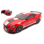 FORD MUSTANG GT 500 FAST TRACK RACING RED 2020 1:18 Solido Auto Competizione Die Cast Modellino