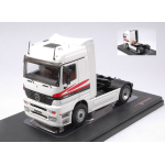 MERCEDES ACTROS MP1 1995 WHITE-GREY 1:43 Ixo Model Camion Die Cast Modellino