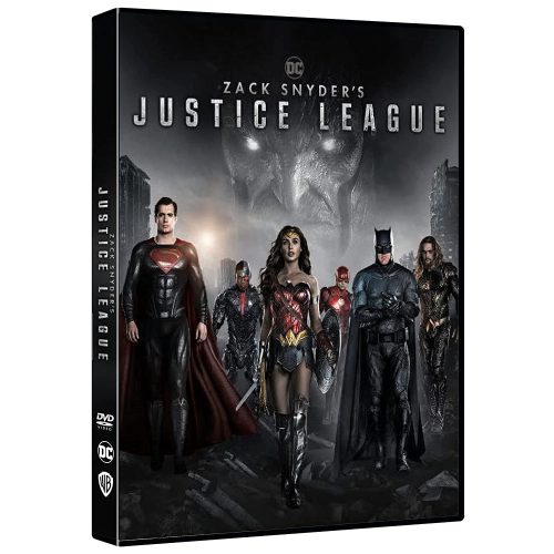 Zack Snyder'S Justice League  [Dvd Nuovo] [PRENOTALO DISPONIBILE DAL 27/05]