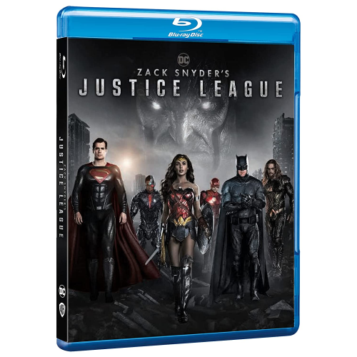 Zack Snyder'S Justice League  [Blu-Ray Nuovo] [PRENOTALO DISPONIBILE DAL 27/05]