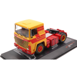 SCANIA LBT 141 1976 YELLOW-RED 1:43 Ixo Model Camion Die Cast Modellino
